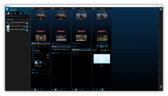 Skype TX TriCAster