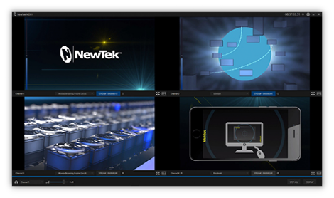 interface newtek mds